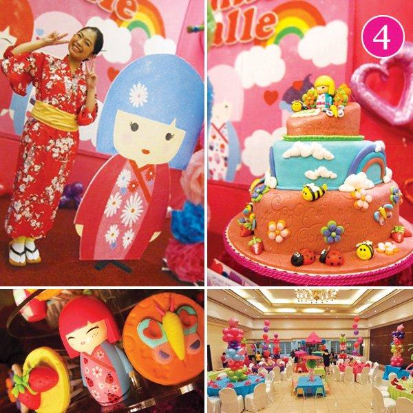 kimmidoll themed birthday party