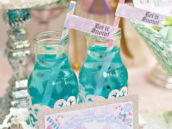 melted snowflakes drink for nutcracker sugarplum fairy party
