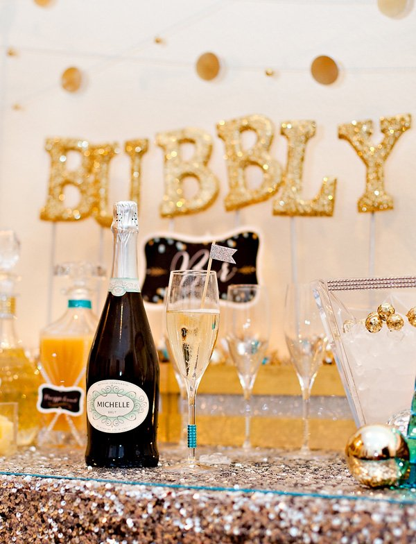 Sweet & Sparkly Bubbly Bar {New Year's Eve & Beyond ...