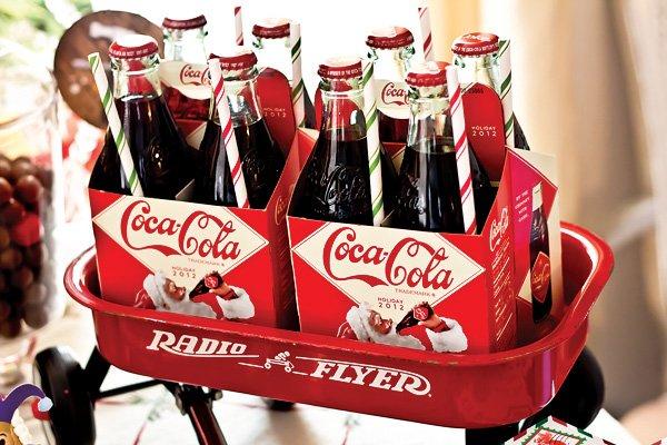 radio flyer coca cola
