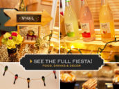 gold fiesta party ideas