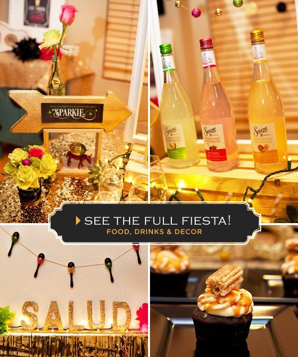 gold fiesta party ideas
