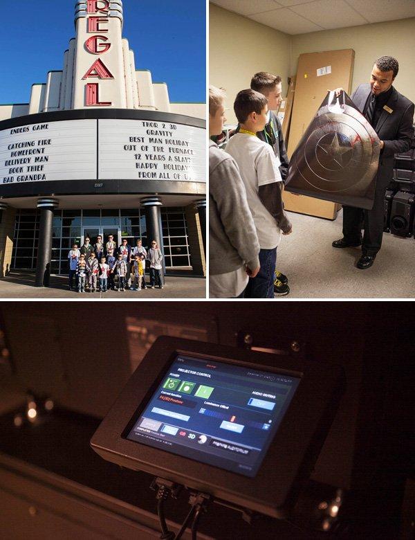 movie theater tour
