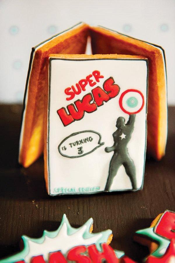 avengers captain america superhero sugar cookie
