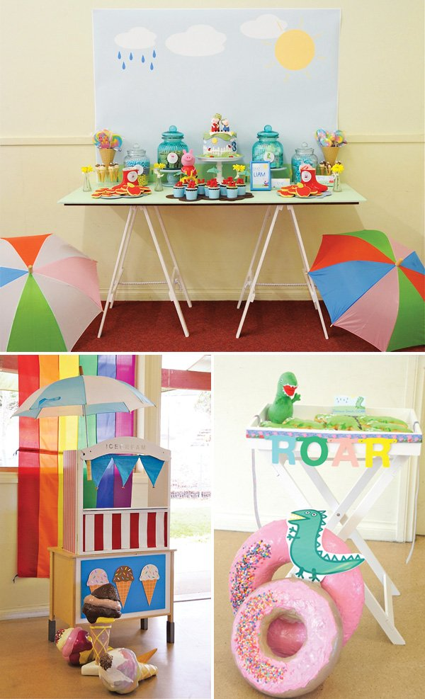 Playful Amp Sunny Peppa Pig Themed Birthday Party Hostess