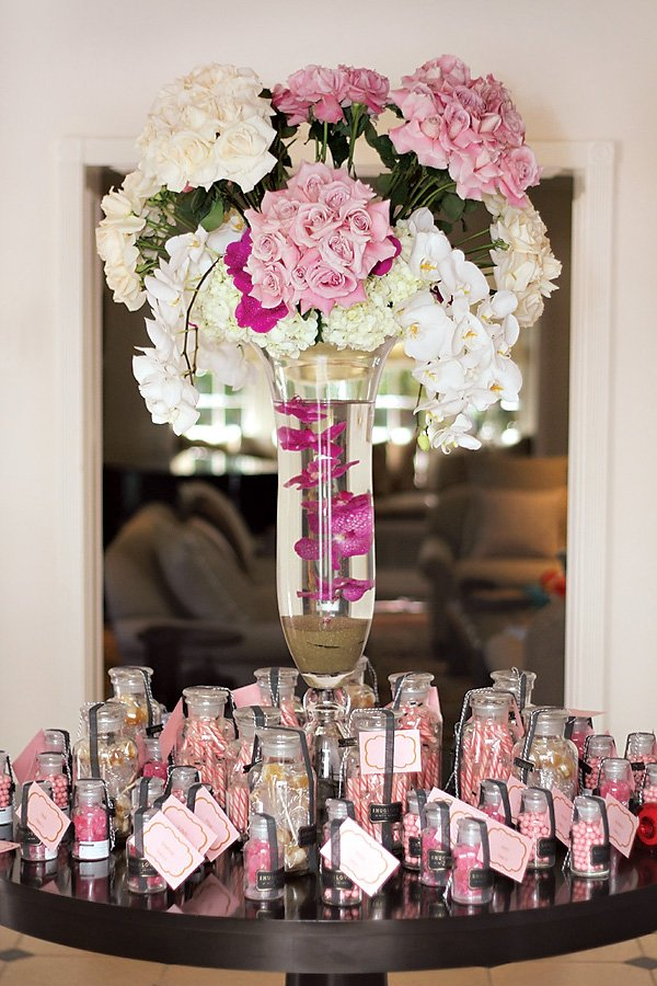Elegant Pretty In Pink Baby Shower Amazing Florals