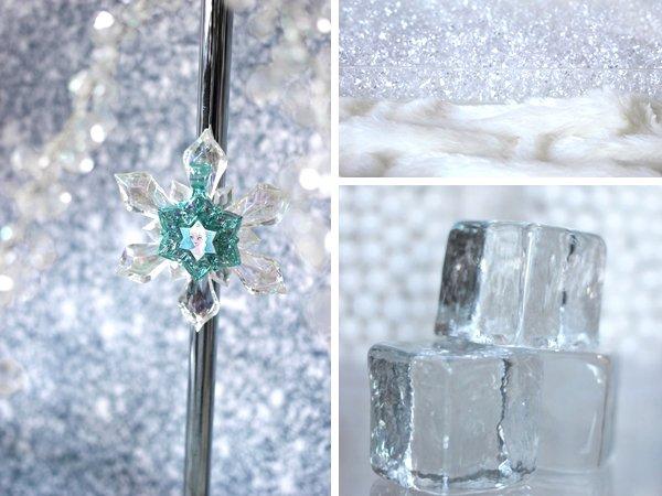 Frozen-acrylic-rocks