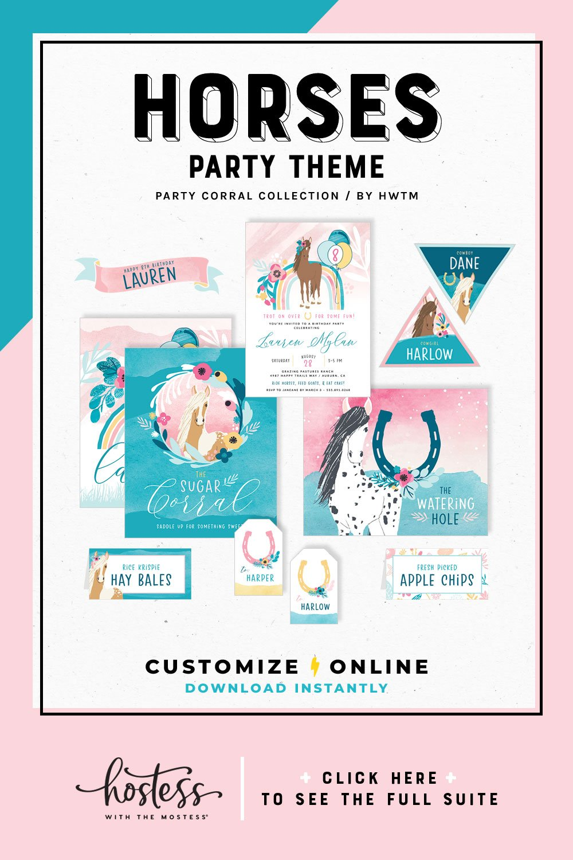 Party Corral Printables