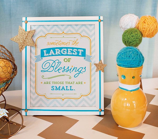 Outdoor baby shower ideas quotes