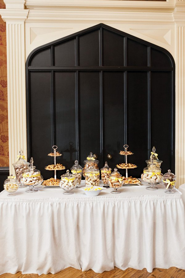 bridal shower cookie bar