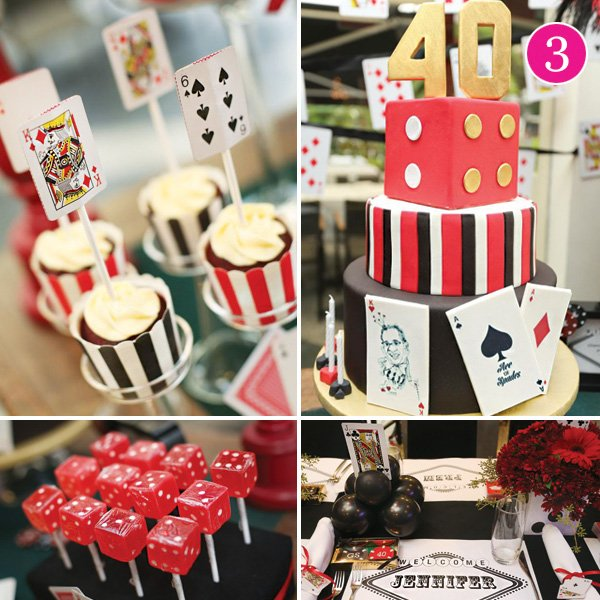gambling and casino birthday party theme