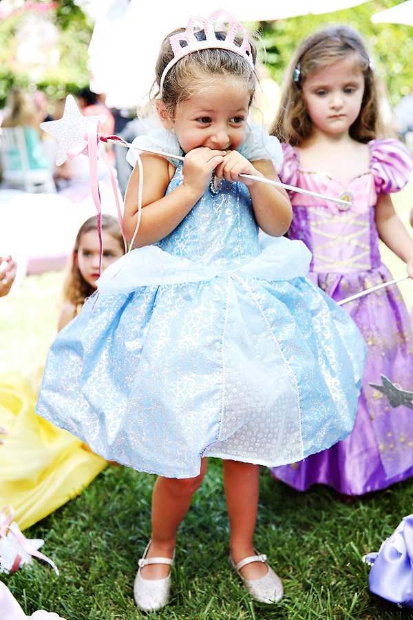 princess birthday girl outfit