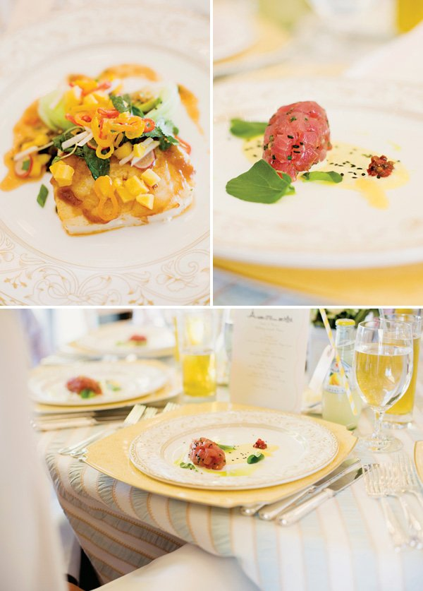 tuna tartare fancy dinner party food