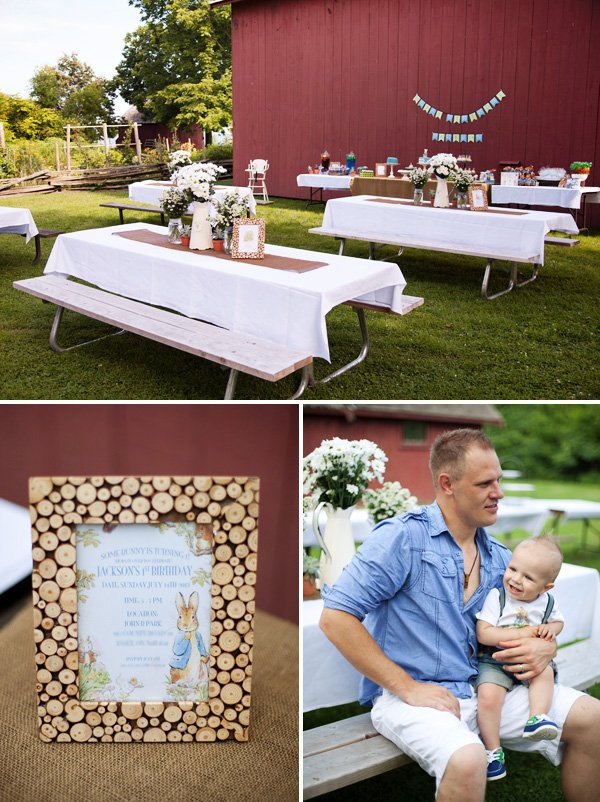 outdoor first birthday theme