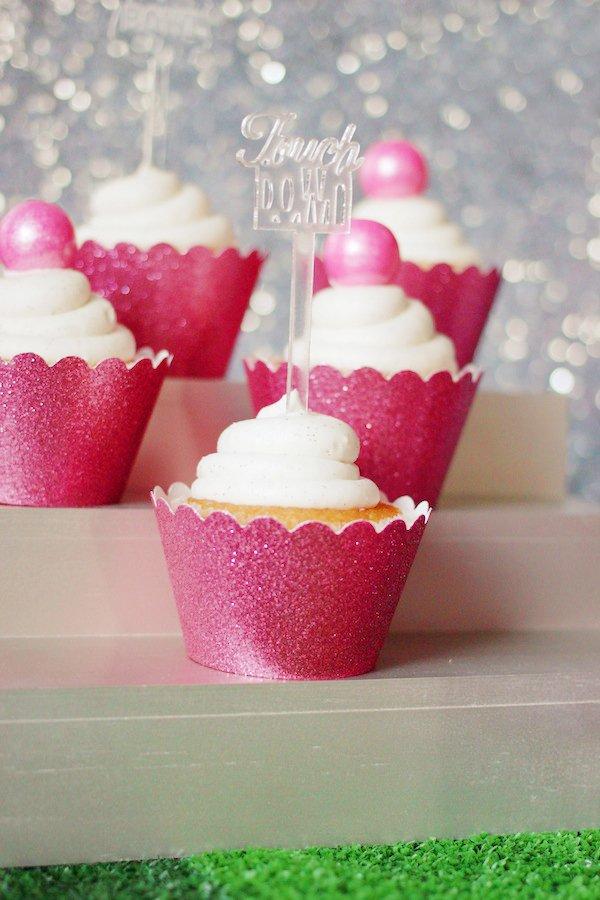 football-acrylic-cupcake-toppers