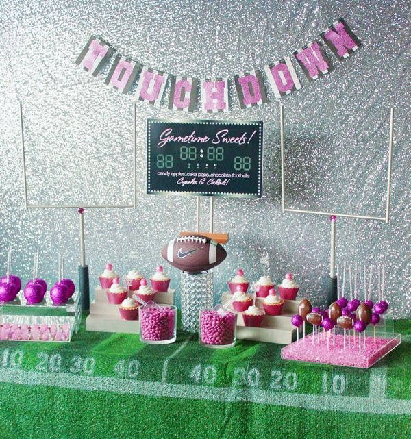 girly-football-party
