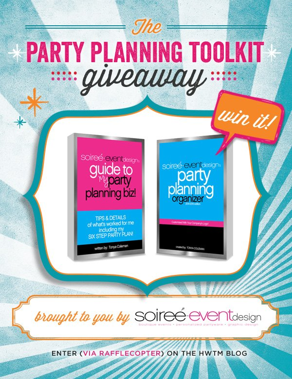 soiree event design ebook giveaway