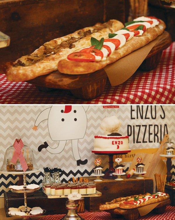 italian pizza flatbreads