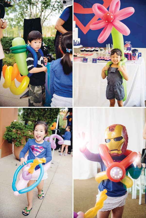 kid's party balloon artist creations