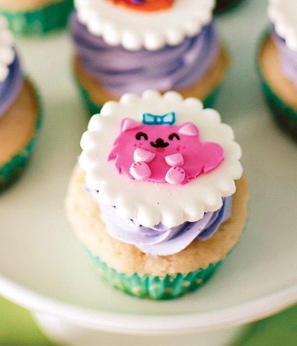 moshi monster cat cupcake