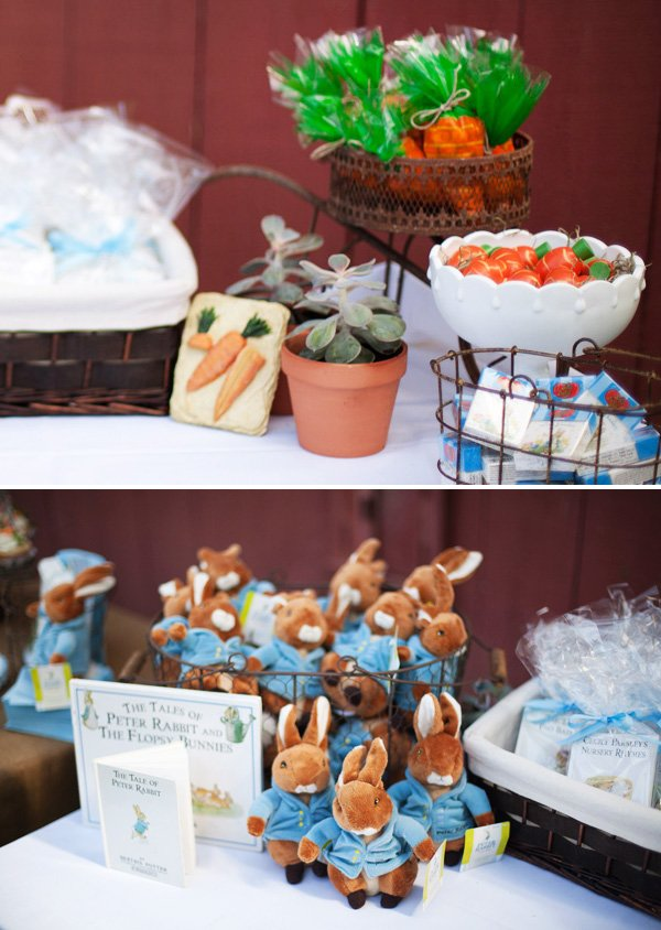 peter rabbit plush party favor dolls