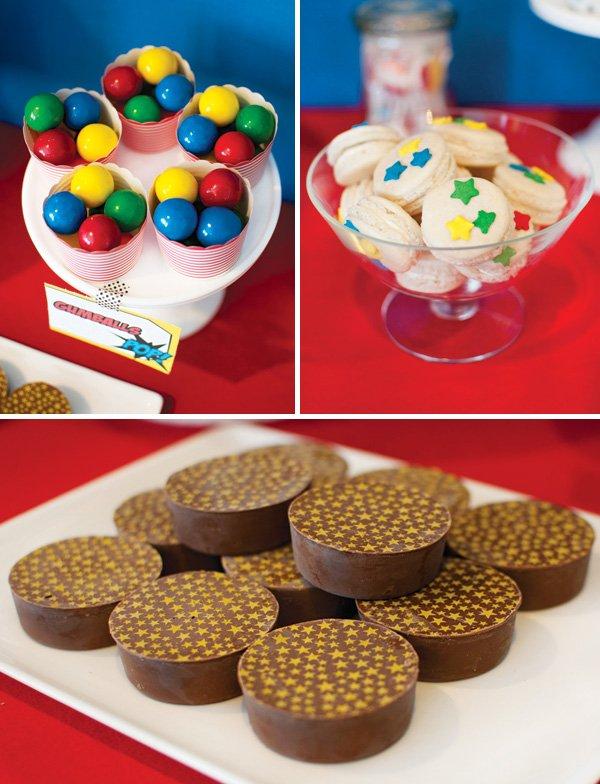 primary colors kids desserts