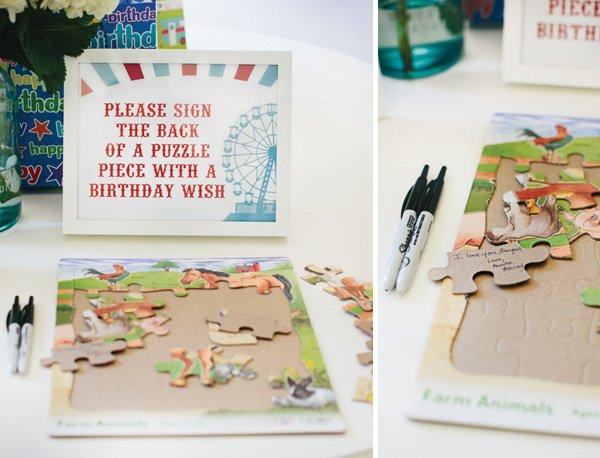puzzle piece signing
