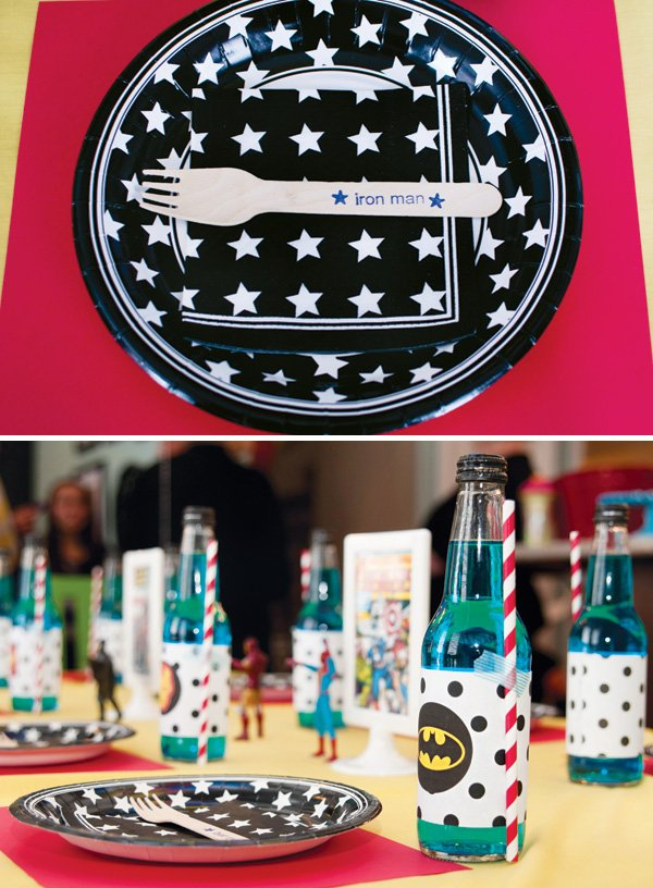 stars and polka dots for a kid's birthday party