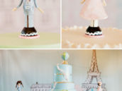 traveling twins cake toppers