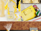 yellow bridal shower raffle prizes