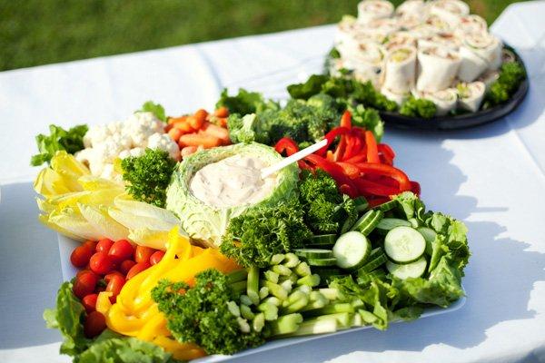 party vegetable platter