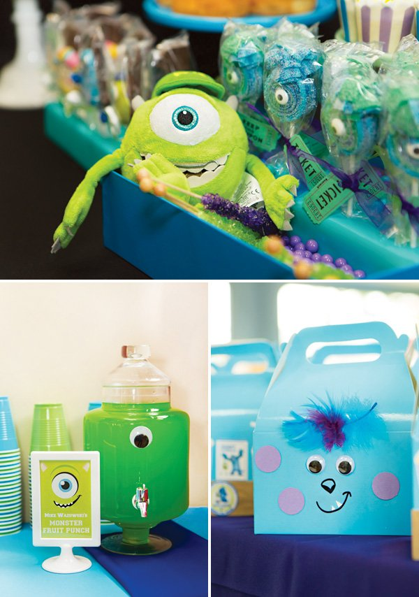 monsters inc party decorations and party favors