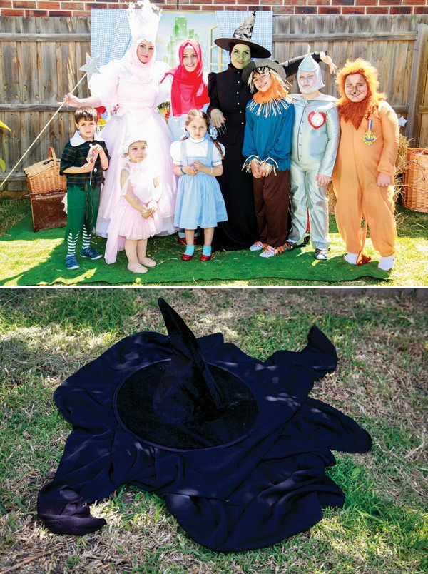 wizard of oz adult and kid costumes
