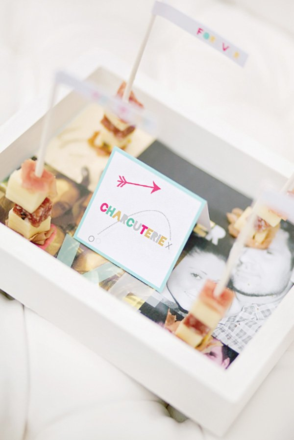DIY photo serving tray