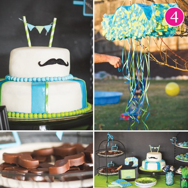 little man mustache bash birthday party