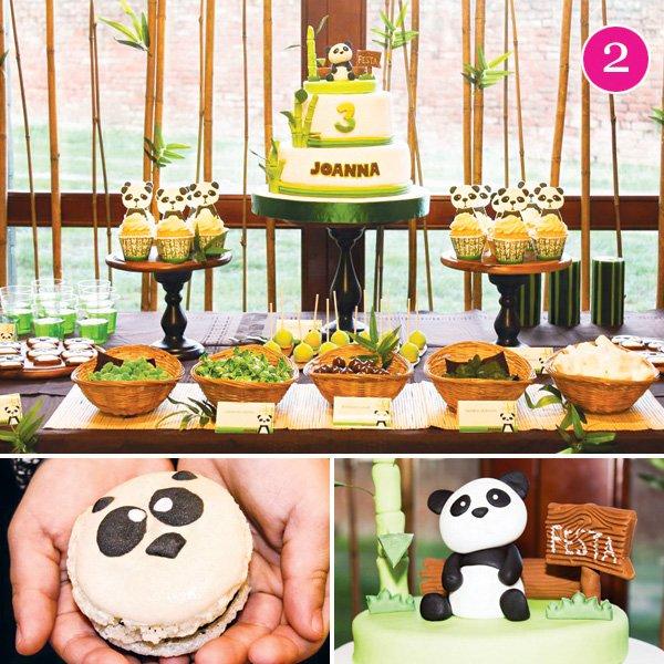 panda bear birthday party ideas