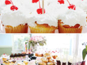 parisian party cupcakes and desserts