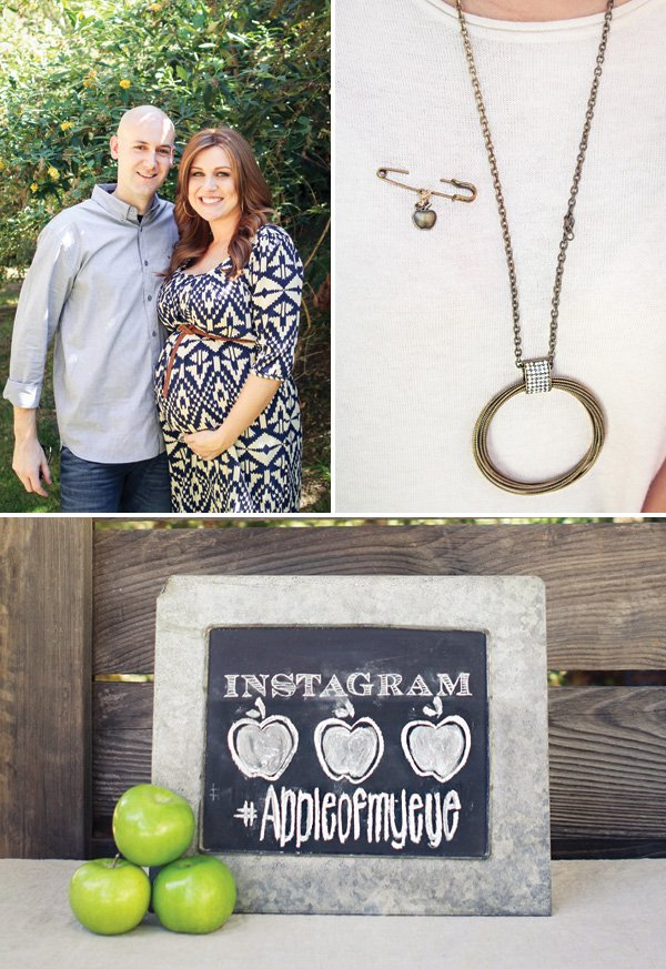 apple of my eye baby shower chalkboard instagram sign