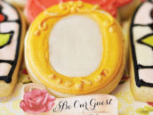 be our guest mirror cookie for a beauty and the beast party