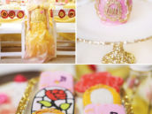 beauty and the beast themed birthday party