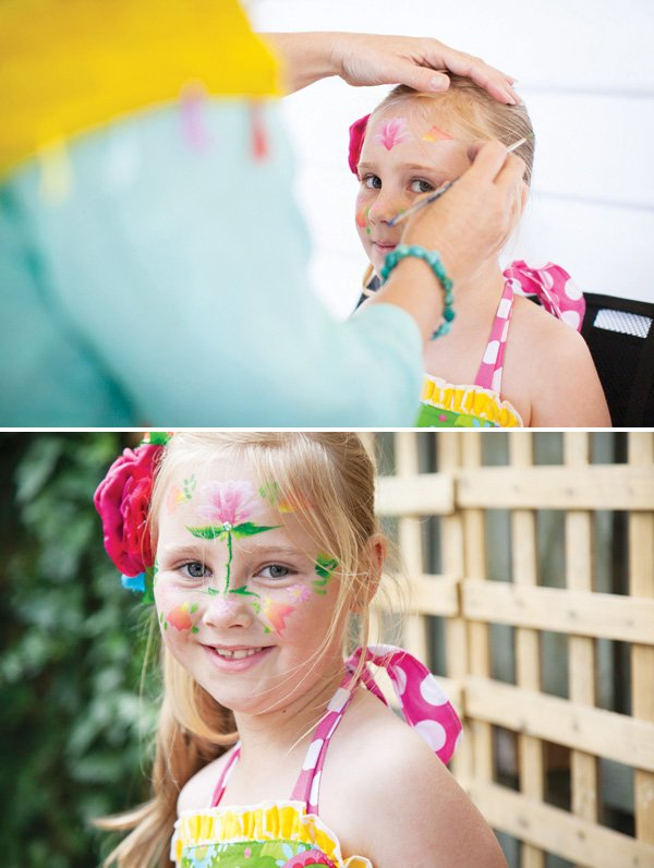 birthday party face painting