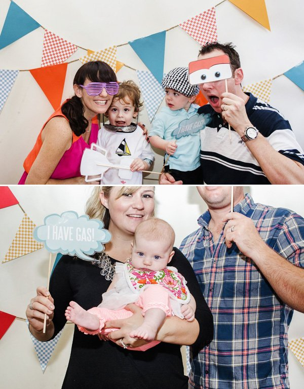 cars inspired photo booth props and word bubbles