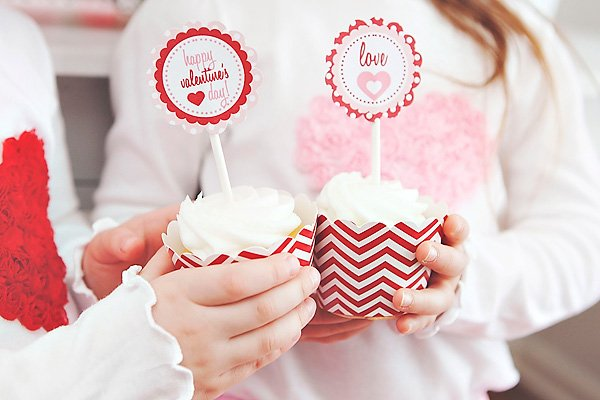 chevron cupcake holders