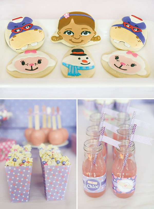 doc mcstuffins themed cookies