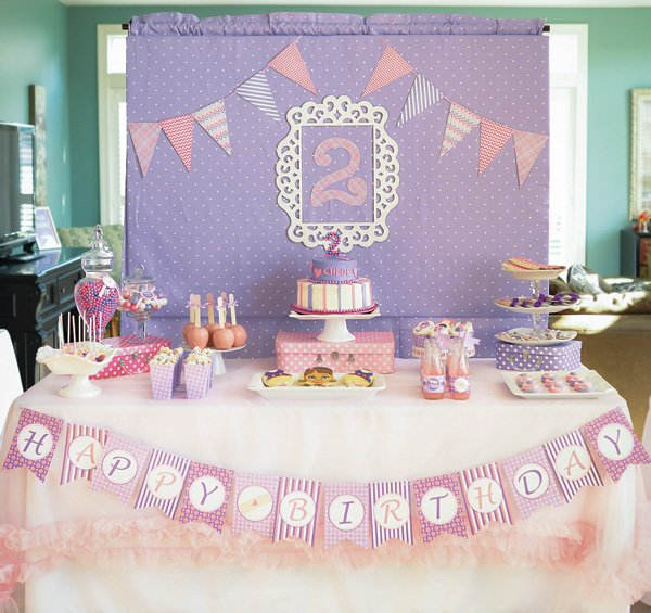 doc mcstuffins dessert table