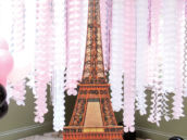 eiffel tower stand cutout