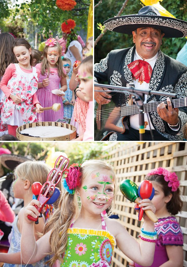 mexican mariachi music for a kids birthday fiesta
