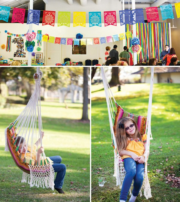 fiesta party lounge hammock