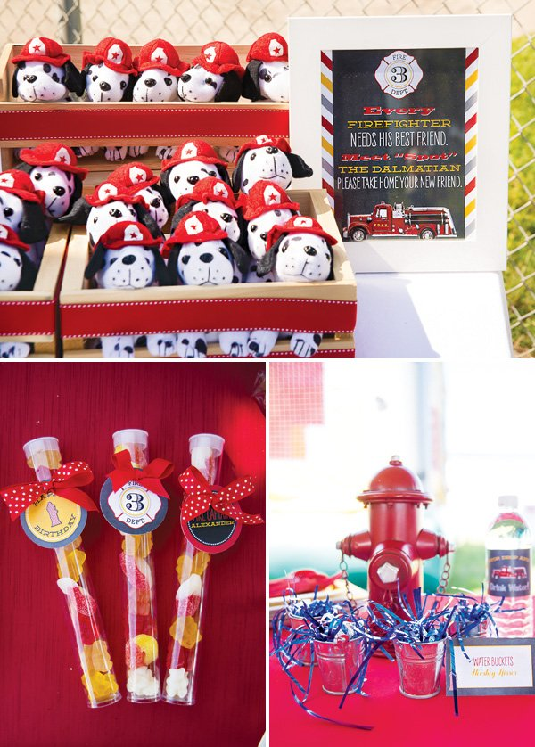 fire fighter party favors
