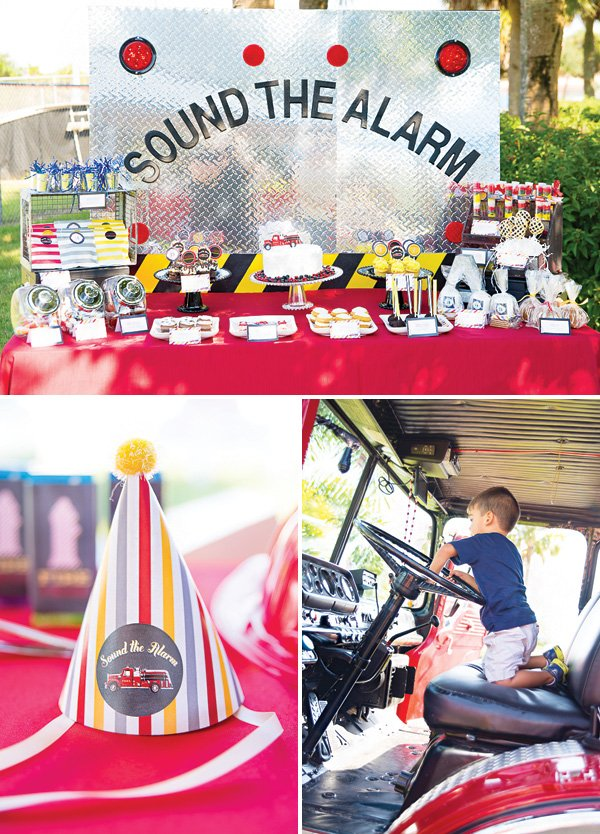 fireman birthday party ideas